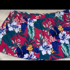 24 Cacique Lane Bryant Swimsuit Swim Skirt